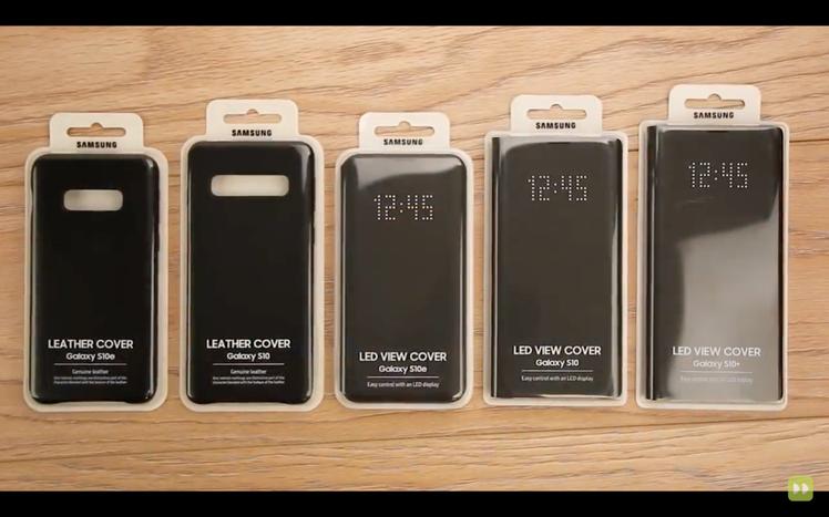 國外網站Mobile Fun釋出的Galaxy S10系列配件動手玩影片,新機名...