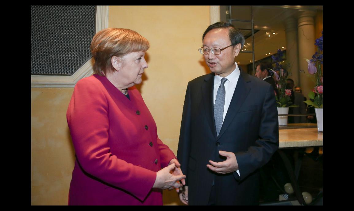 德國總理梅克爾呼籲中國大陸加入「中程核武條約」(INF),但中共中央外事工作委員...