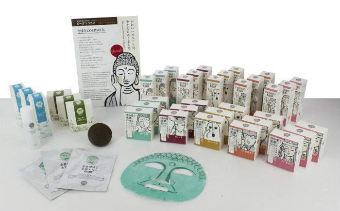 奈良やまとcosmetic推出一系列保養品。圖/摘自nlab網站