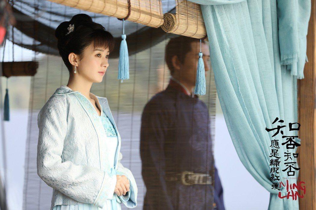 趙麗穎在「知否知否應是綠肥紅瘦」中展現新時代女性一面。圖/LINE TV提供