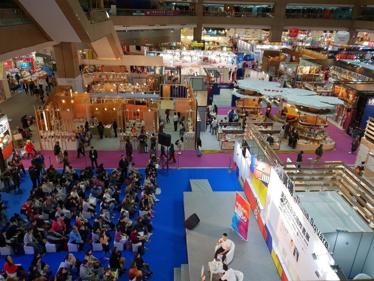 台北國際書展落幕,今年攤位設計相當具美感。記者陳宛茜/攝影