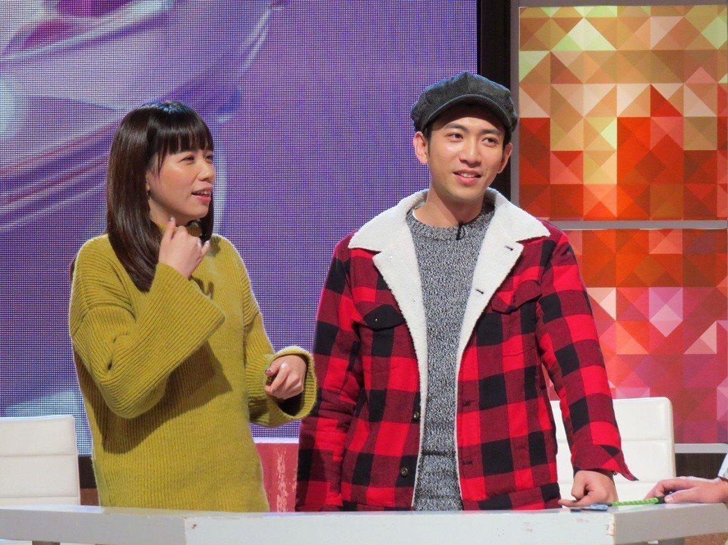 吳俊諺(右)三番兩次路倒嚇壞老婆。圖/衛視提供