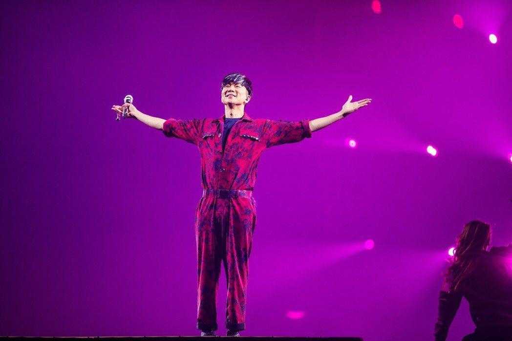 林俊傑一連四天展現唱功。圖/JFJ Productions提供