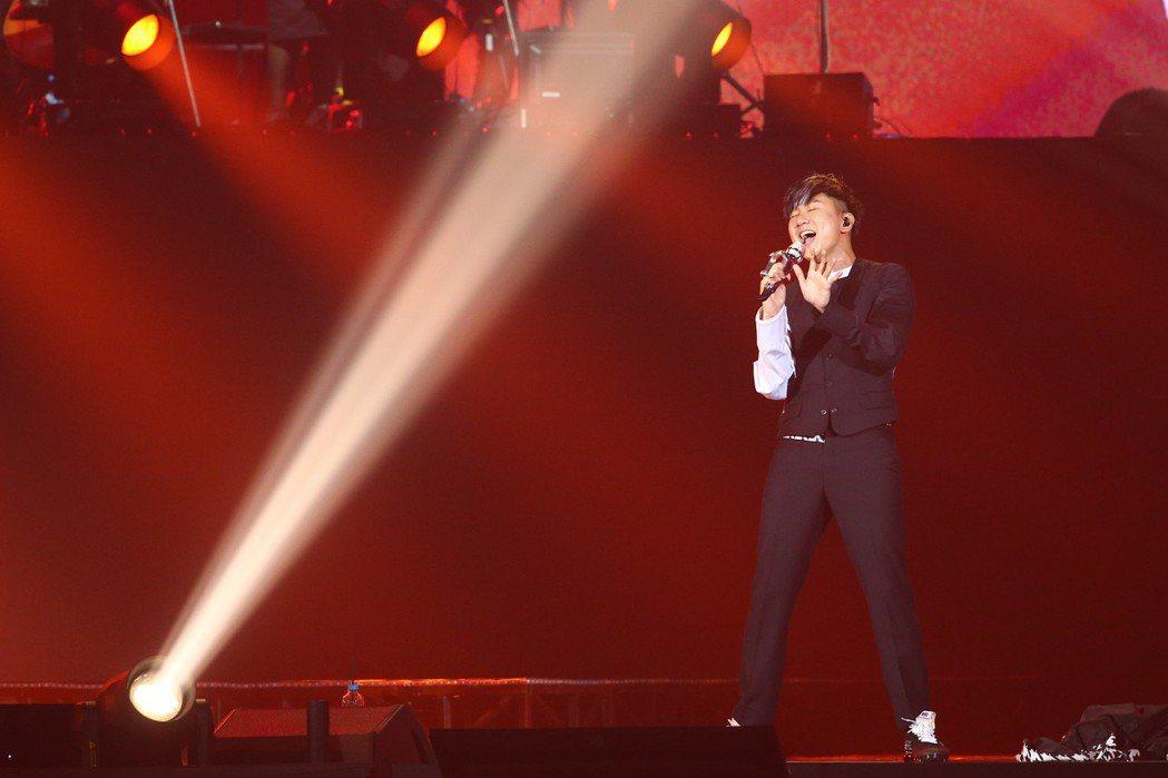 林俊傑今天在台北小巨蛋舉辦「聖所」世界巡迴演唱會亞洲最終場。記者葉信菉/攝影