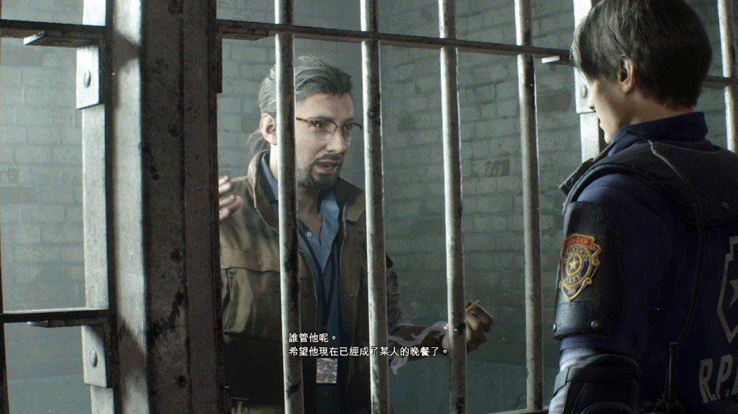 還記得之前里昂劇情裡,在警察局地下牢房遇到的那位攝影記者嗎?他叫班,最後被暴君從...