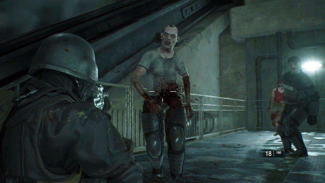 本關卡會出現穿戴裝甲的殭屍,要注意槍如果打到有裝甲覆蓋的地方,敵人是不會受傷的。...