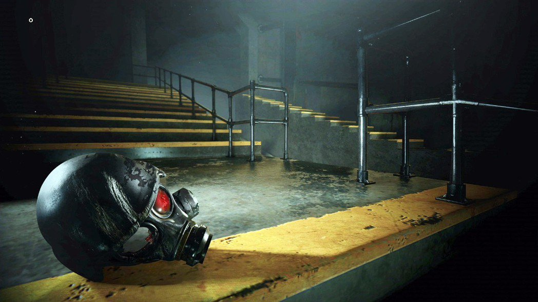 過關之後的圖片,是士兵的頭盔掉在地上的樣子,這結局究竟是悲還是喜呢…?