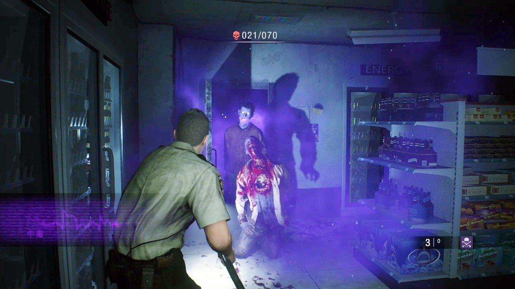 無路可逃的過關條件比較特別,普通難度下,玩家必須擊殺100隻殭屍才算過關,新訓難...