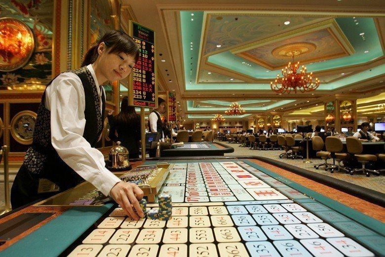 澳門博奕生態是臺灣是否開放娛樂性賭博的重要例子。 圖/美聯社