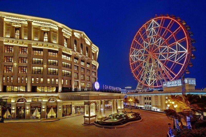 在暖冬補助遊及「韓」風吹拂下,義大皇家酒店旅客增加。 業者/提供