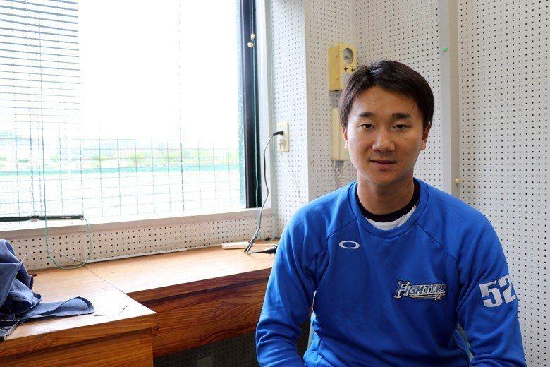 畢業自東京大學的宮台康平,是日本職棒史上第六位東大職棒選手。 圖/作者自攝