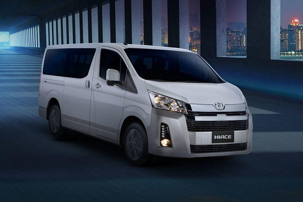 台灣未來將導入的Toyota Granvia商旅車,今日(2/18)於菲律賓全球首發。 圖/Toyota提供