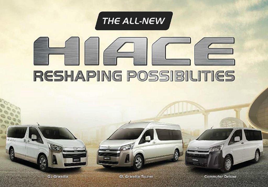 新世代Toyota Hiace在菲律賓市場共有GL Grandia Tourer,GL Grandia和Commuter Deluxe三種車型可選。 圖/Toyota提供