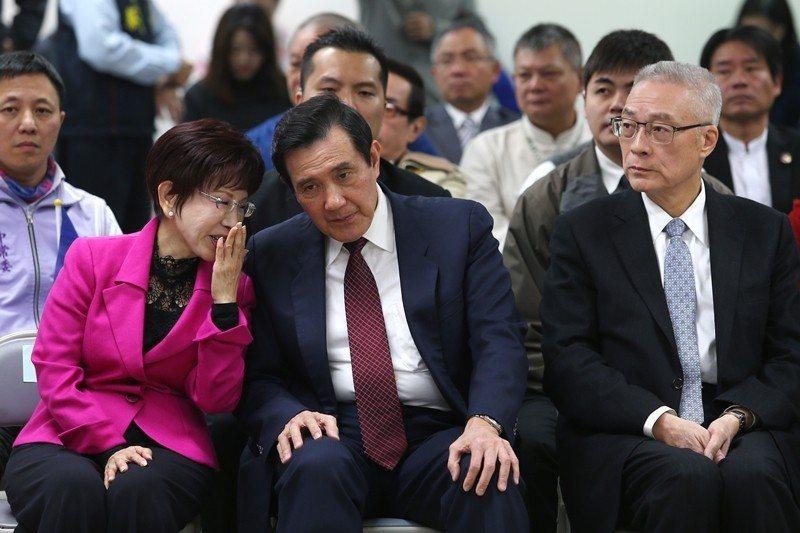 吳敦義將就任國民黨主席,黨的政綱小組已擬定新政綱,確定兩岸論述回歸「九二共識、一...