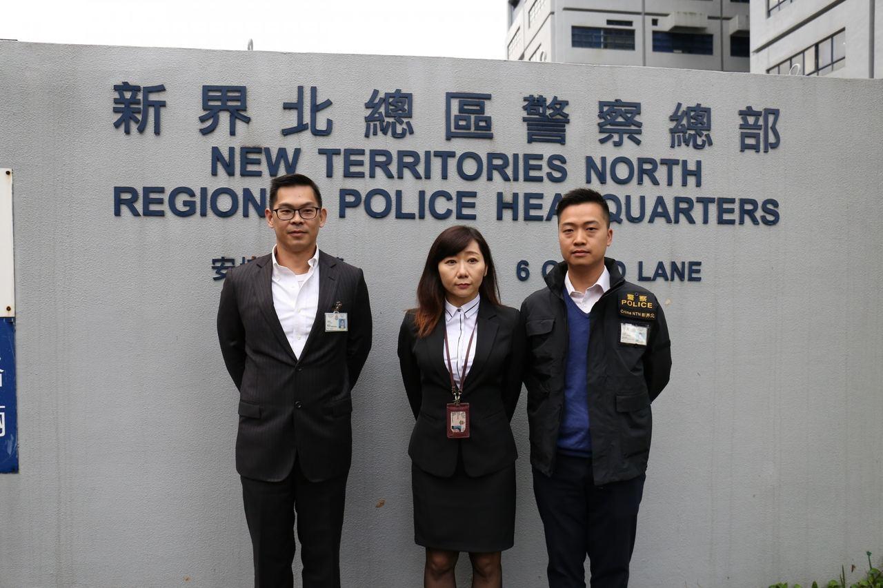 警方交代案情。 香港01記者陳浩然/報導
