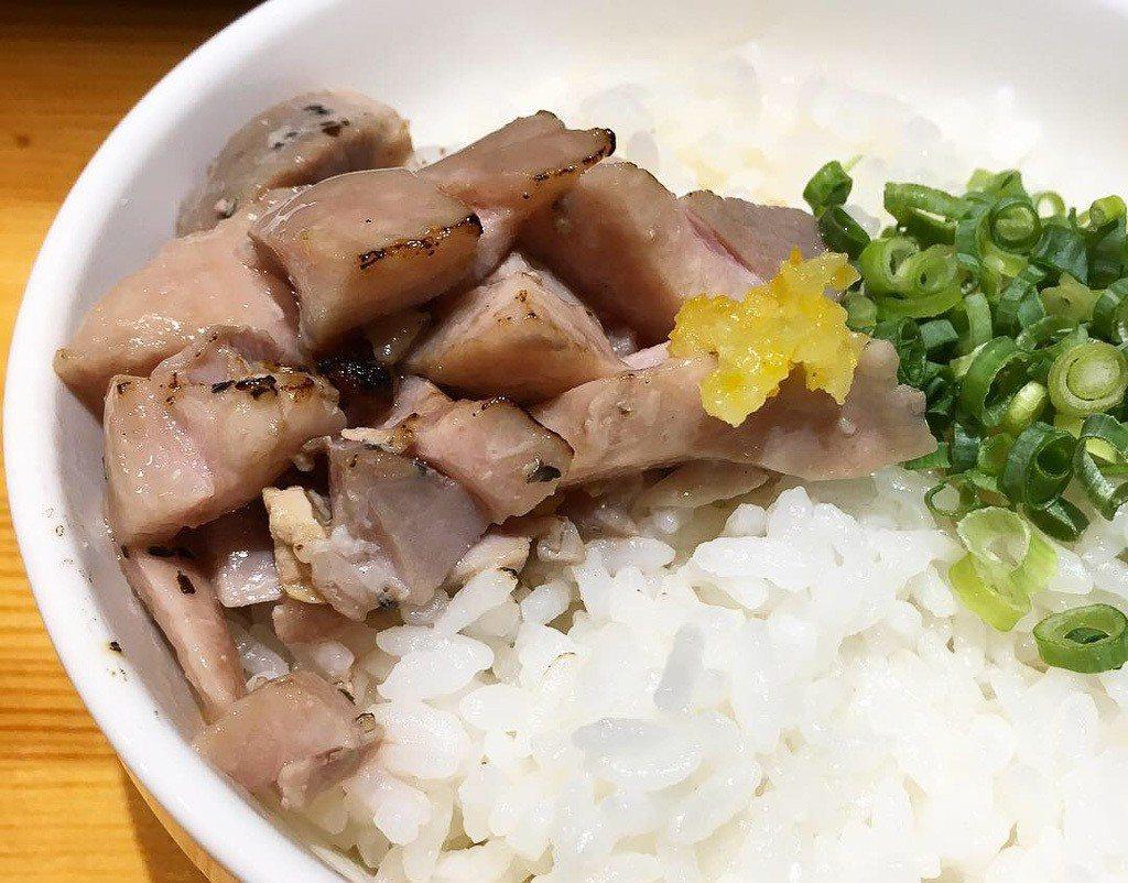 鴨雜炊丼 小 200円