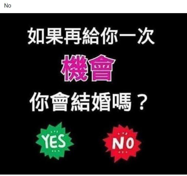 吳男在臉書上透露了些令人不安的訊息,並對婚姻有所質疑。圖/取自臉書