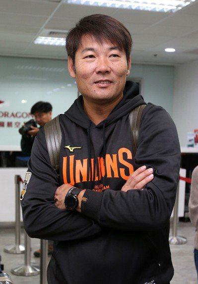 統一獅隊總教練黃甘霖。 圖/聯合報系資料照 記者林澔一/攝影