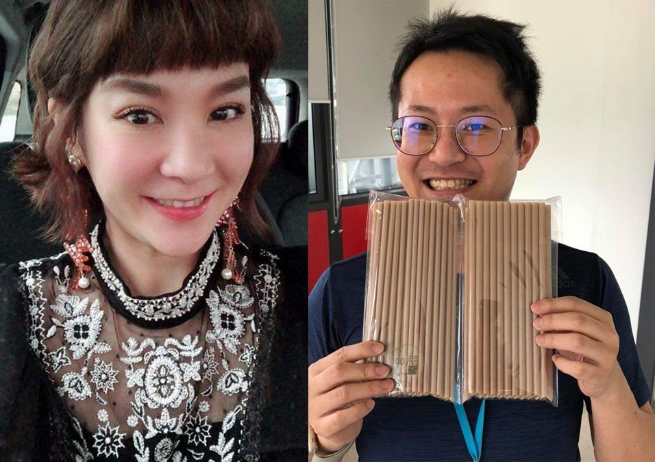 陸元琪與呂元鐘。圖/擷自臉書