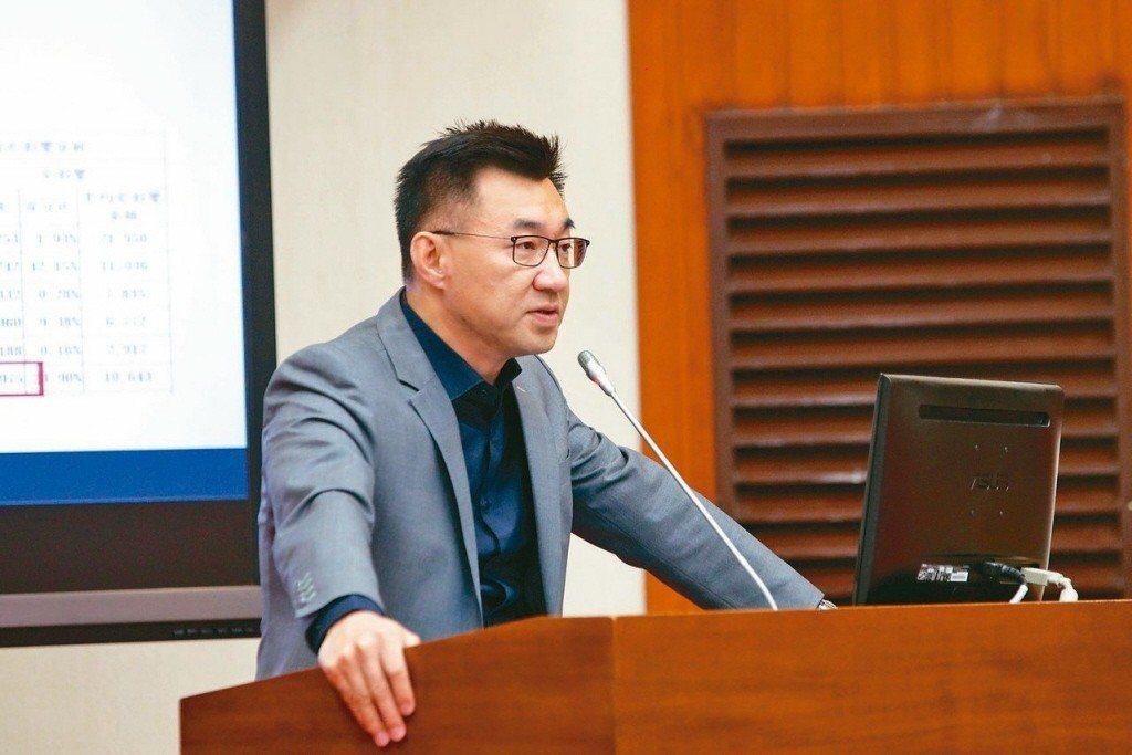 國民黨團總召江啟臣。 聯合報系資料照片