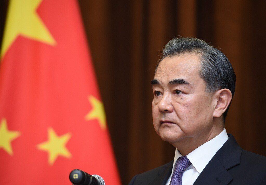 中國國務委員兼外交部長王毅。 (中新社)