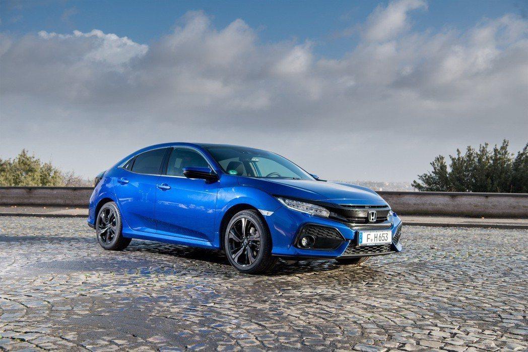 Honda在英國的Swindon工廠生產Civic Hatchback。 摘自Honda