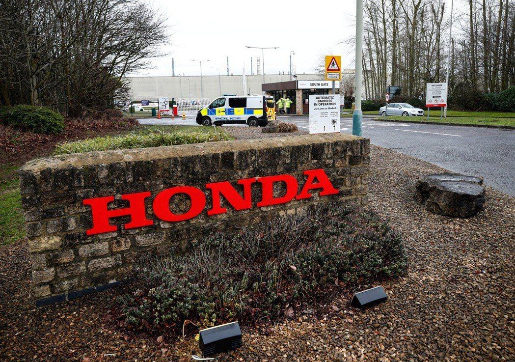日本汽車大廠本田汽車宣布,位於英格蘭西南部的工廠將於2021年關閉。 路透社