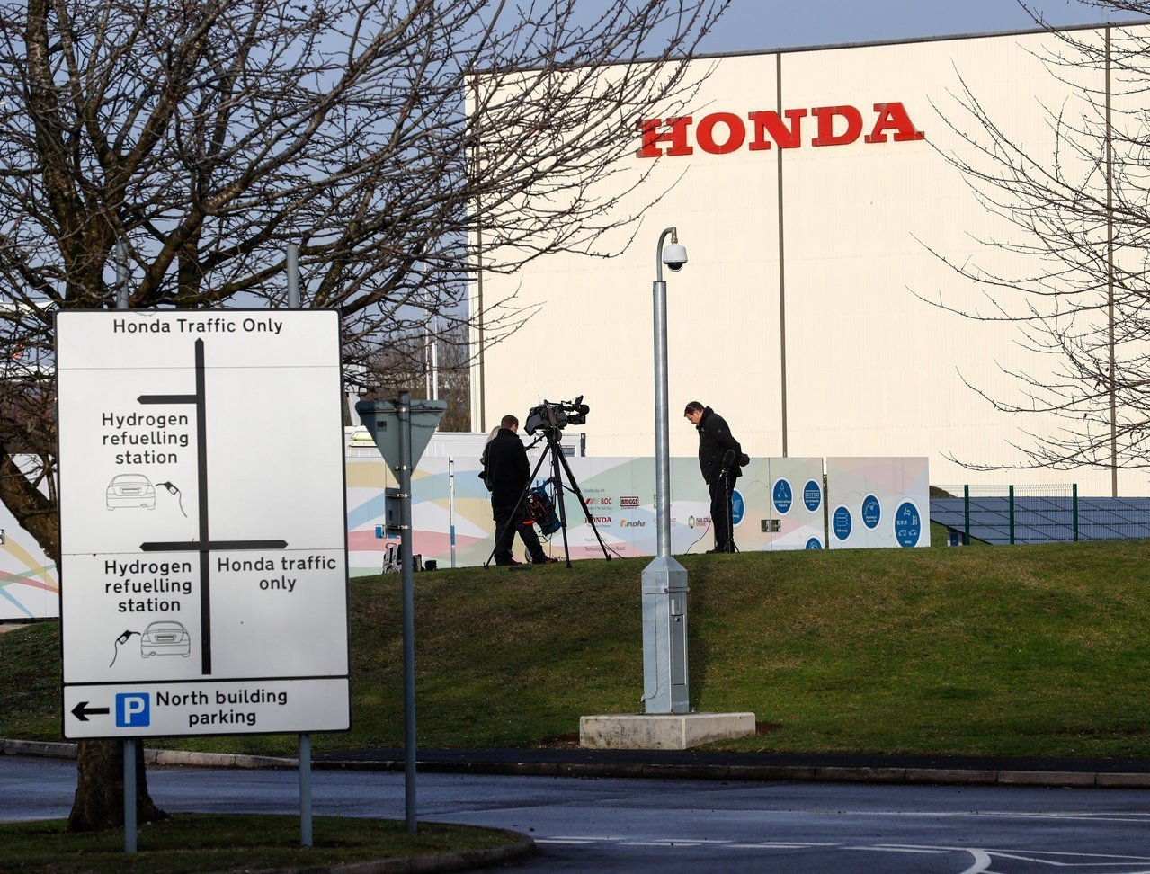 日本本田汽車昨日宣布生產線撤出英國,本田決定將影響其他正在評估中企業,帶動日系企...