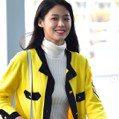 「人間GUCCI」雪炫驚心打扮現身機場 網友邊嫌棄邊淪陷:好舒服的顏