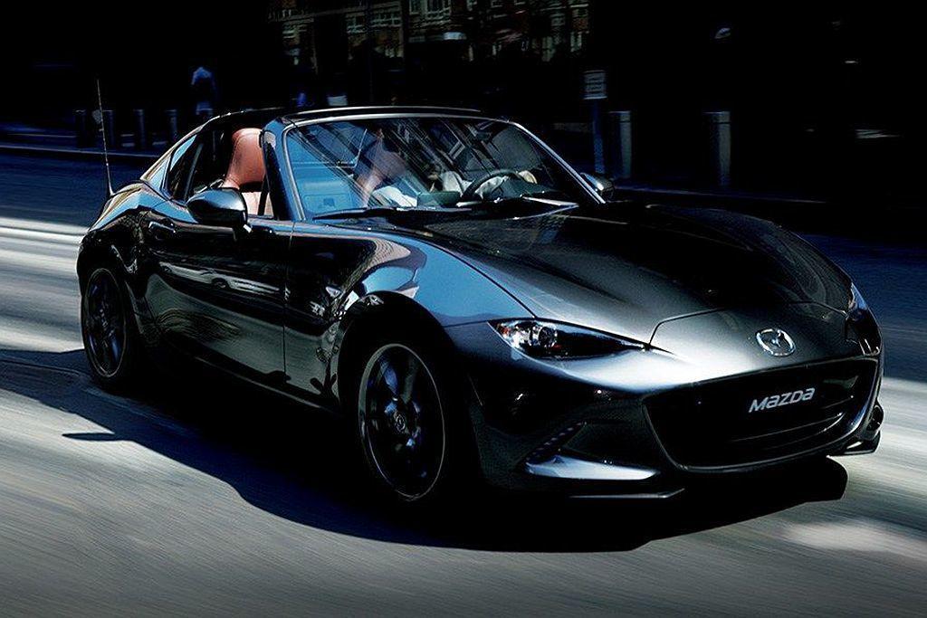 動力略為提升的新年式Mazda MX-5,同時追加手排車型可選平均油耗則為14....