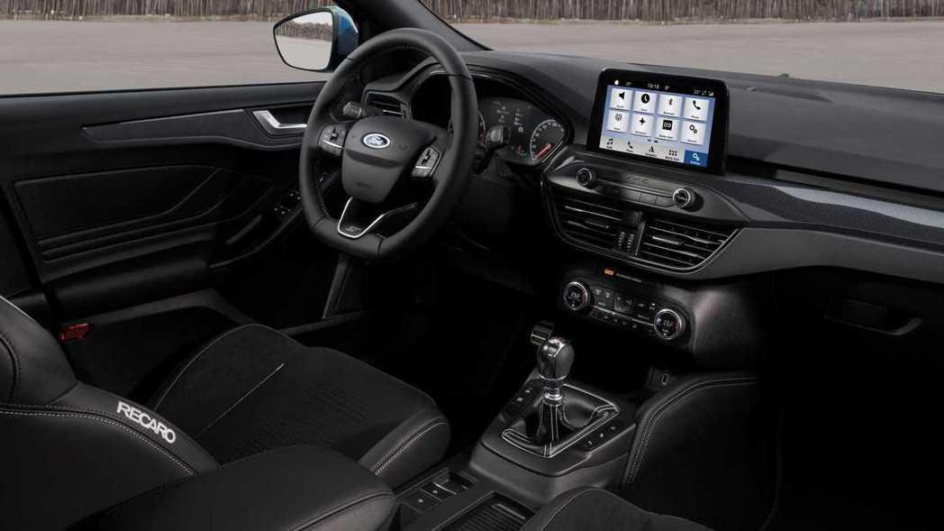 新世代Ford Focus ST內裝。 摘自Ford