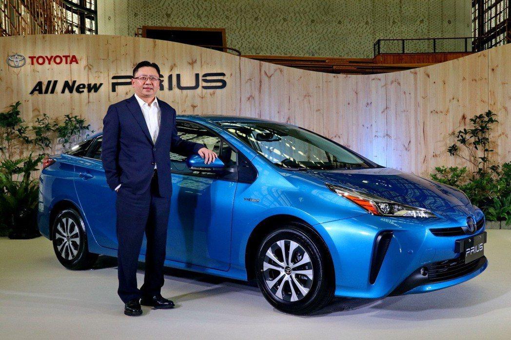 Toyota Prius小改款後售價調整為112.9萬,年販目標則維持2000台...