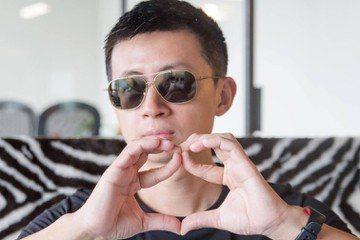 台灣第一位YouTuber議員,邱威傑(呱吉)。 圖/取自呱吉Facebook