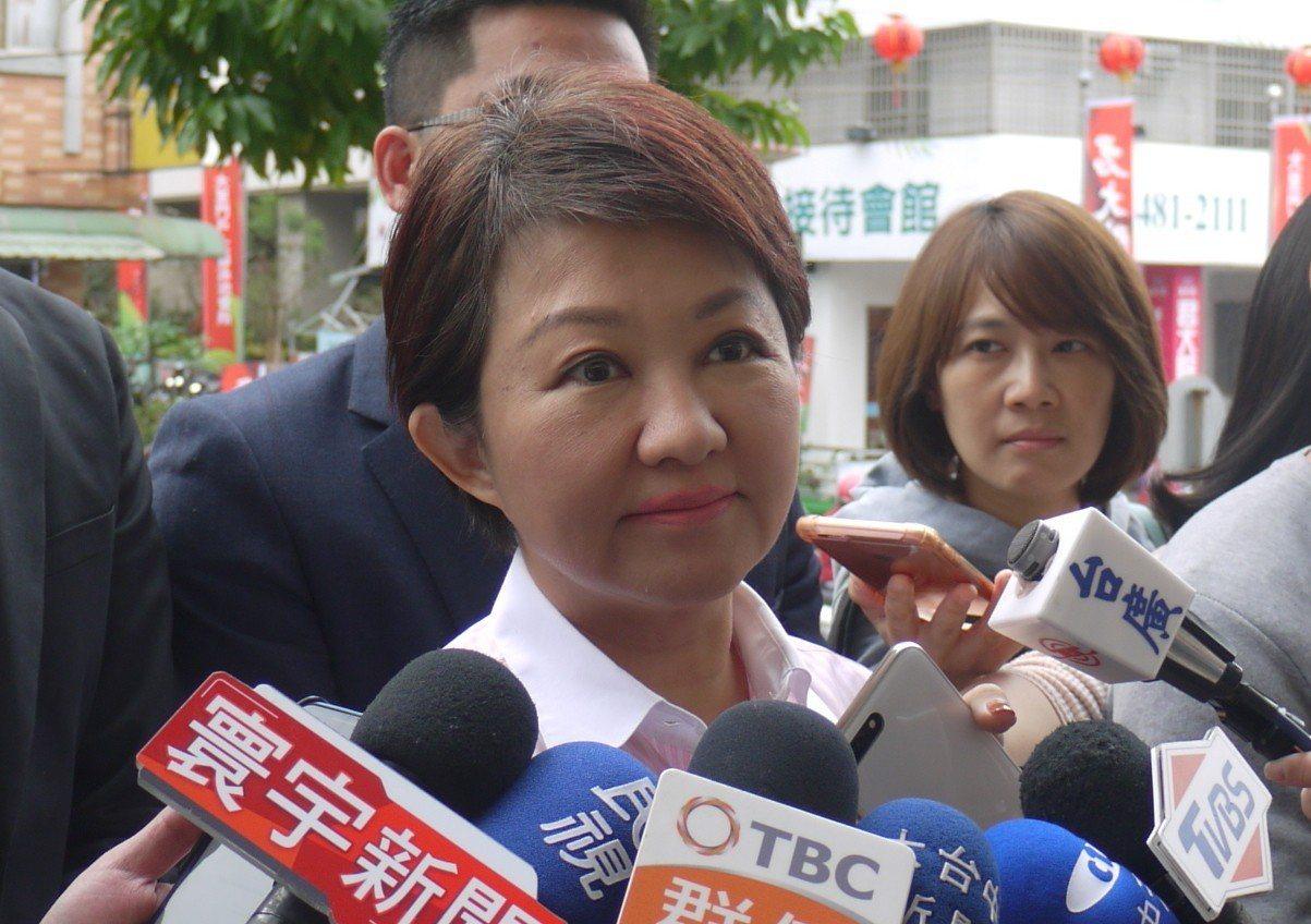 台中市長盧秀燕。 聯合報系資料照/記者洪敬浤攝影