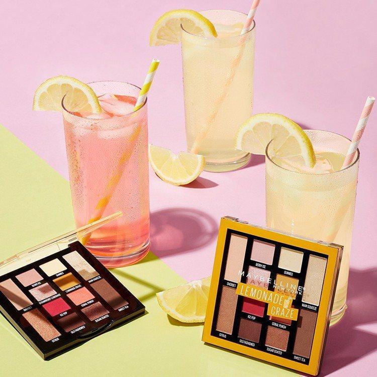 2019春夏流行彩妝,果汁色系眼妝大勢來襲。圖/媚比琳提供