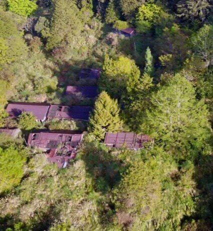 花蓮嵐山工作站早年在伐木興盛期,是一處熱鬧聚落。圖/花蓮林管處提供