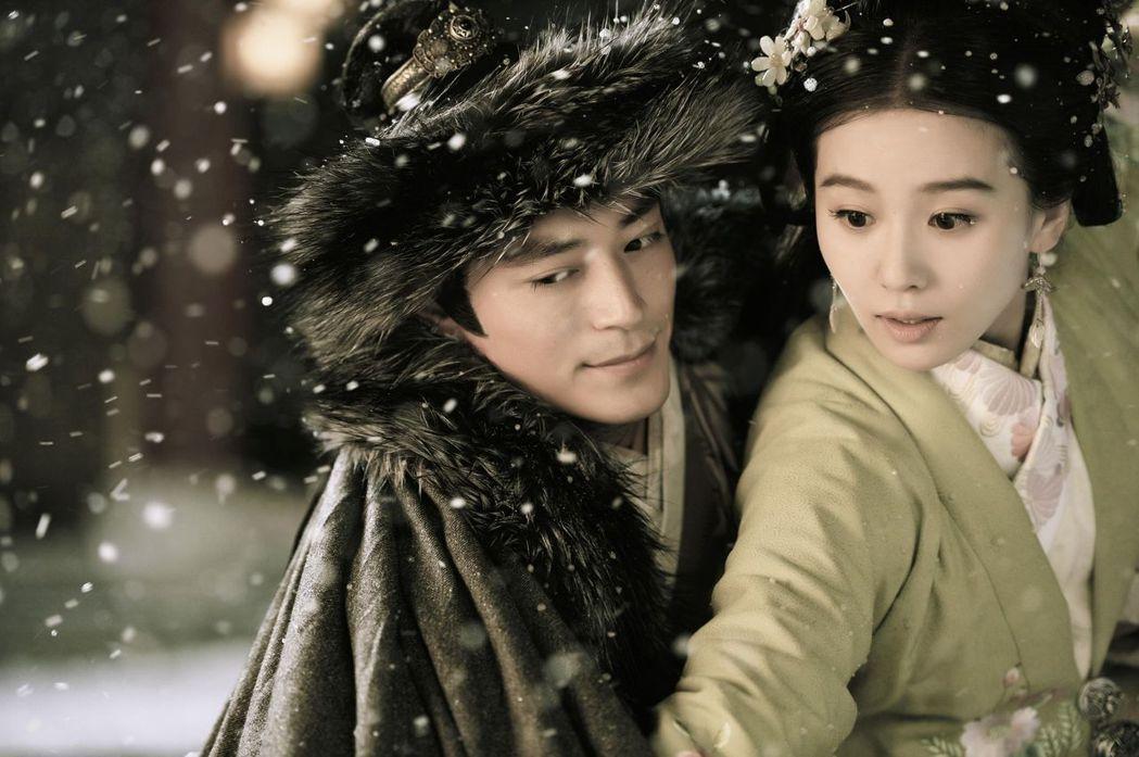 劉詩詩和霍建華曾四度合拍戲。圖/中天提供