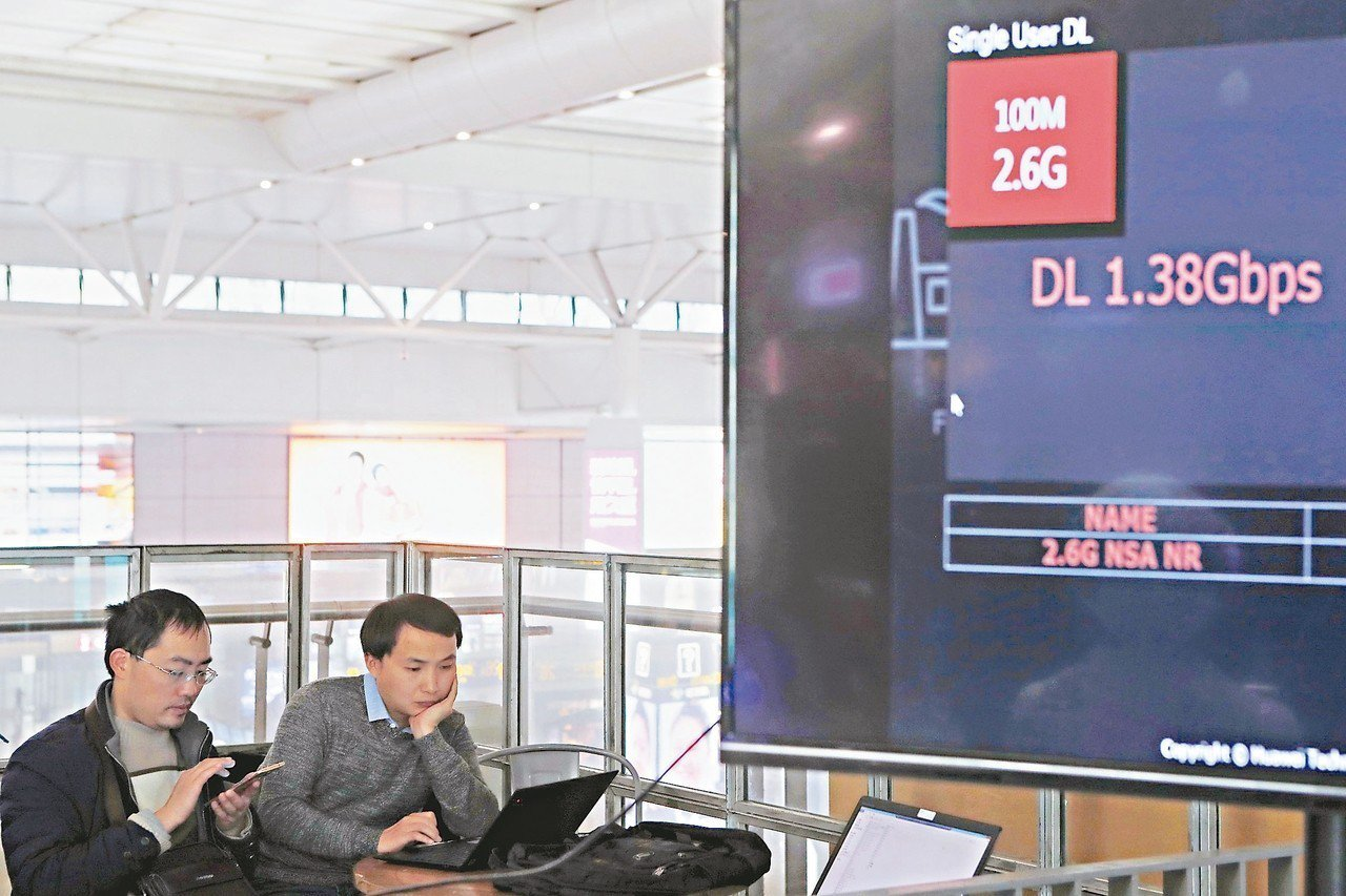 中國大陸首個5G火車站在上海虹橋火車站啟動建設,計畫於今年9月完成5G網路深度覆...