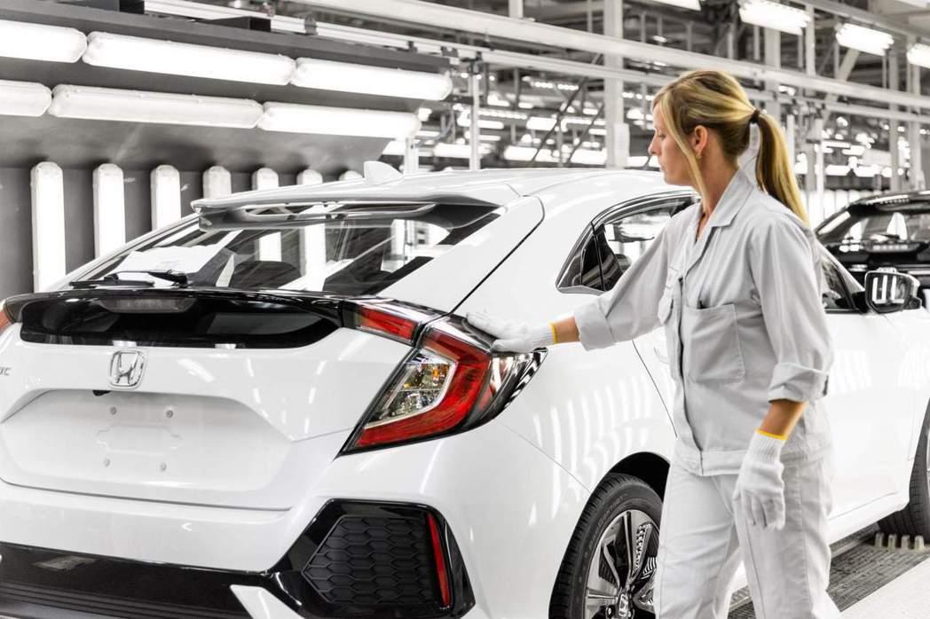 Honda位於英國Swindon的工廠,目前專職生產Civic Hatchbac...