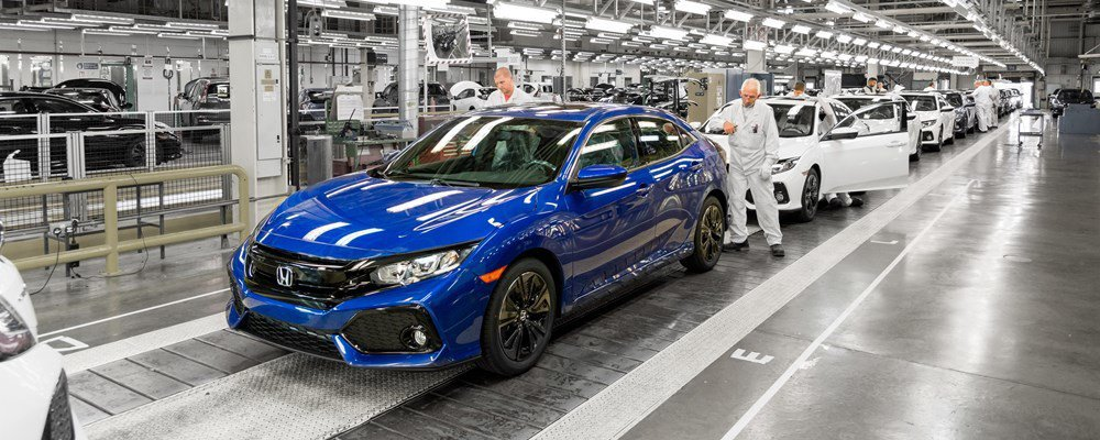 Honda將於2021年結束英國生產。 摘自Honda