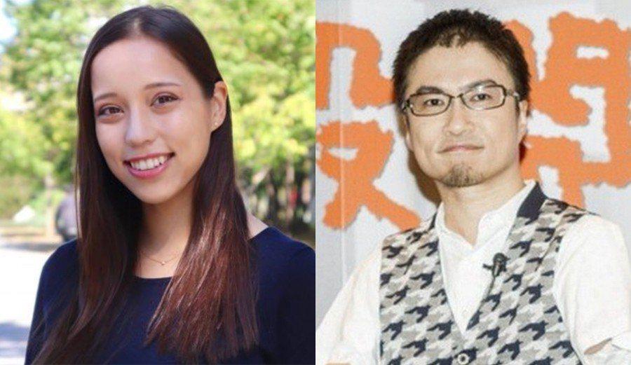 日本作家乙武洋匡(右)傳出好事近,二婚對象是貌似俄羅斯溜冰女王Zagitova的...