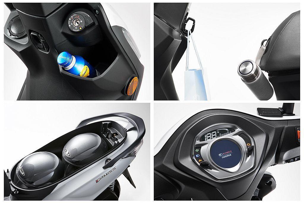 光陽Famous新名流125以新引擎、豐富的置物空間等為產品特色,加上還有noo...