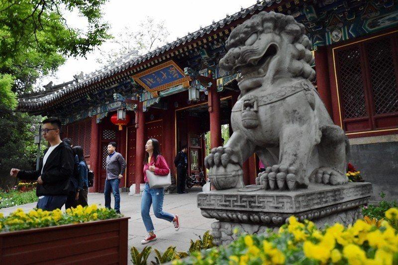 北京大學。 圖/中新社