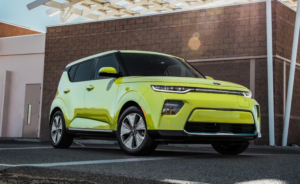新世代Kia Soul EV已於2018洛杉磯車展中正式發表。 摘自Kia