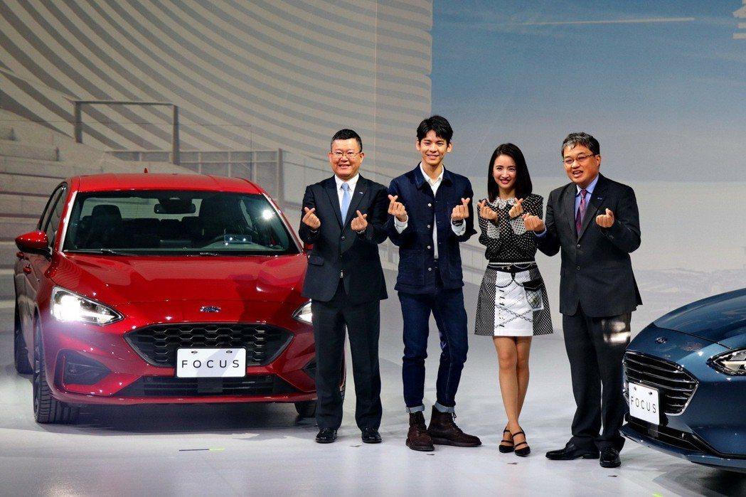 Ford Focus大改款上市,售價67.8萬至89.8萬元。 記者陳威任/攝影