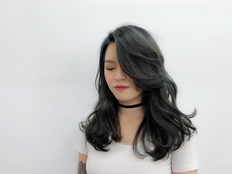 髮型創作/ LAB hair salon / 魔女安柏。圖/StyleMap提供