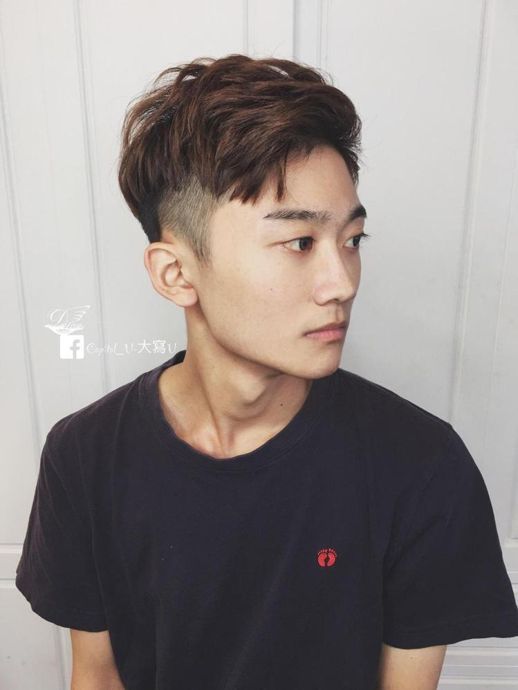 髮型創作/ 米蘭時尚髮型 南應大店 / Capital_U-大寫U。圖/Styl...
