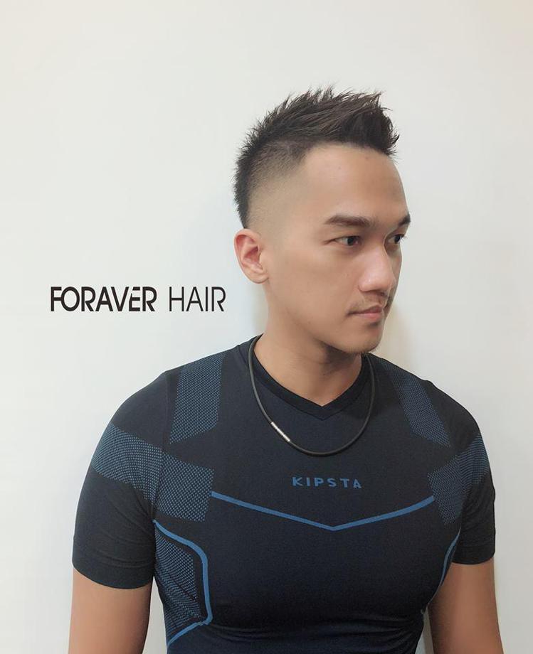 髮型創作/ 蒝髮FORAVER HAIR / Aver Tsai。圖/Style...