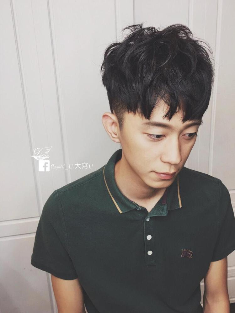 髮型創作/米蘭時尚髮型 南應大店 / Capital_U-大寫U。圖/Style...