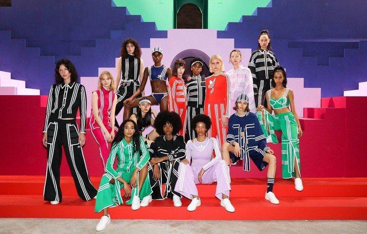 adidas Originals by Ji Won Choi聯名系列在倫敦時裝...